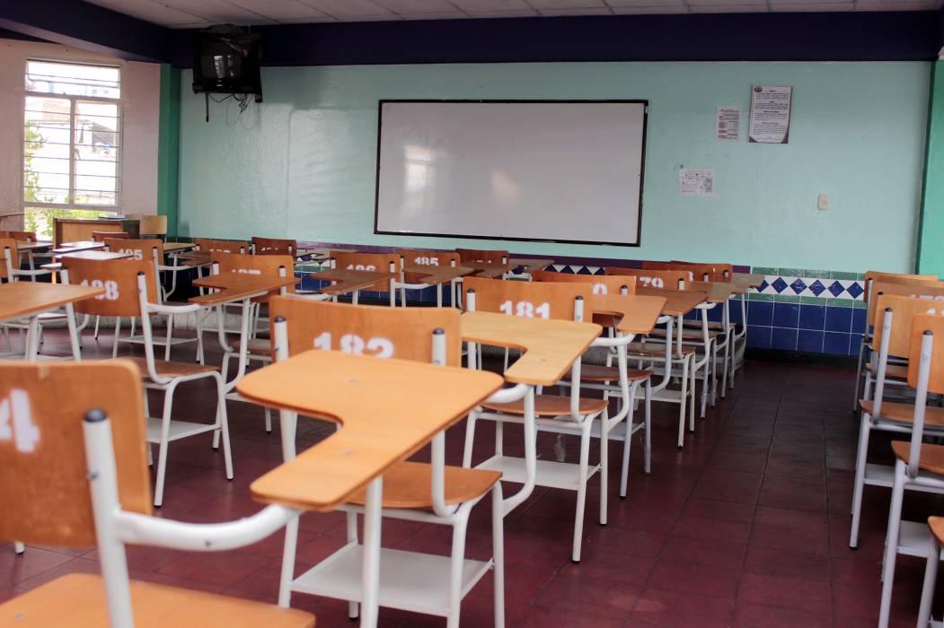 Pusieron 'pico y placa de clases' en Colegio de Bucaramanga