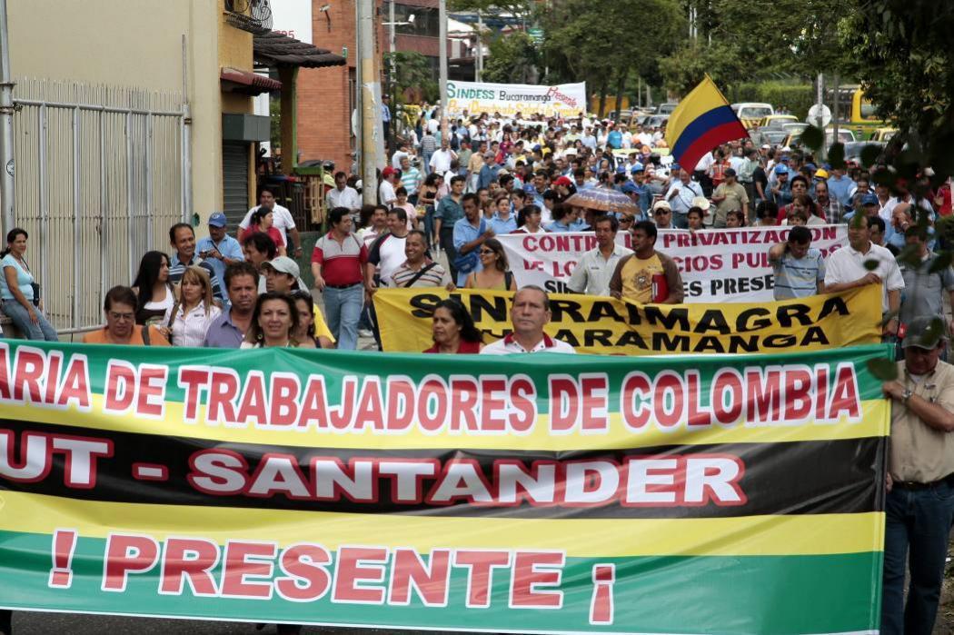 Esto es lo que debe saber del paro de trabajadores en Bucaramanga