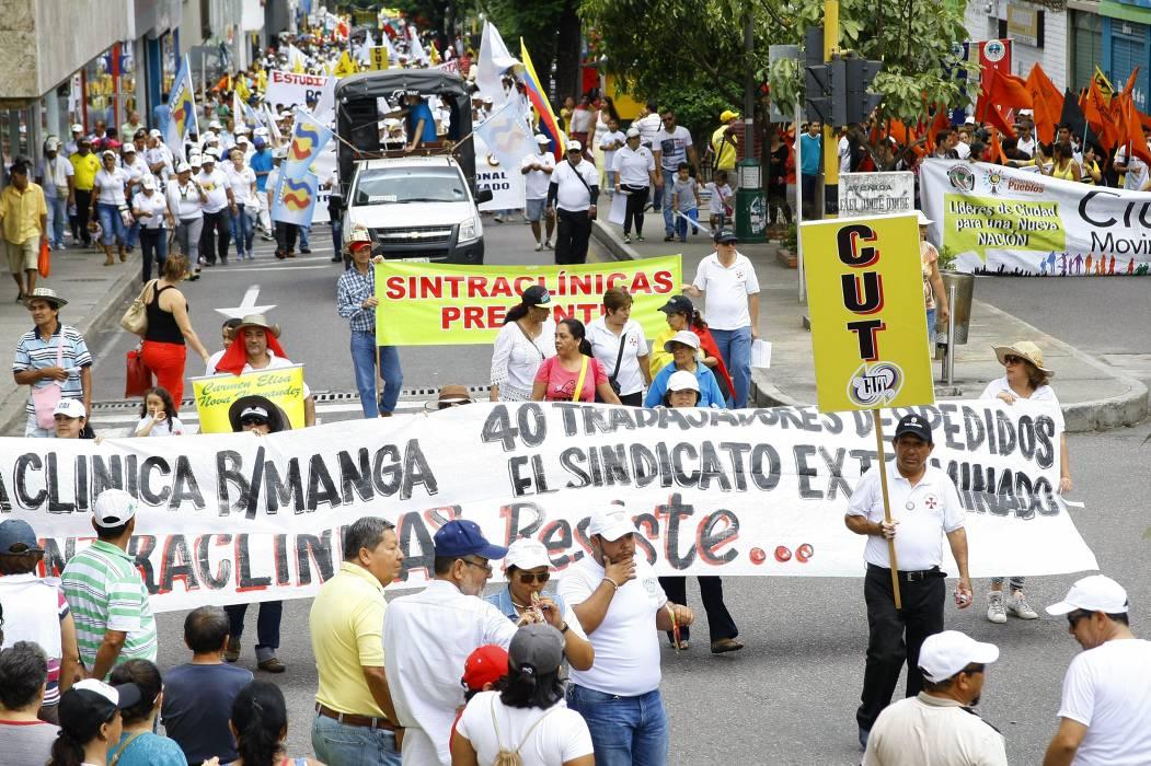 Decretan medidas especiales por paro de los trabajadores en Bucaramanga