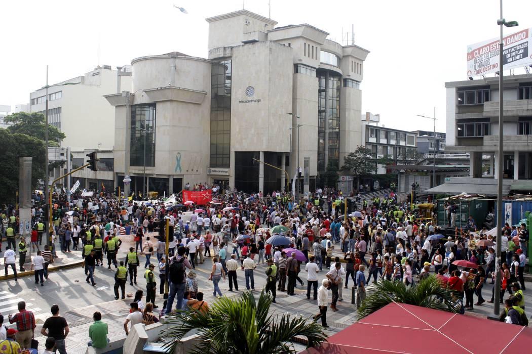 La marcha contra el Gobierno tuvo una masiva participación