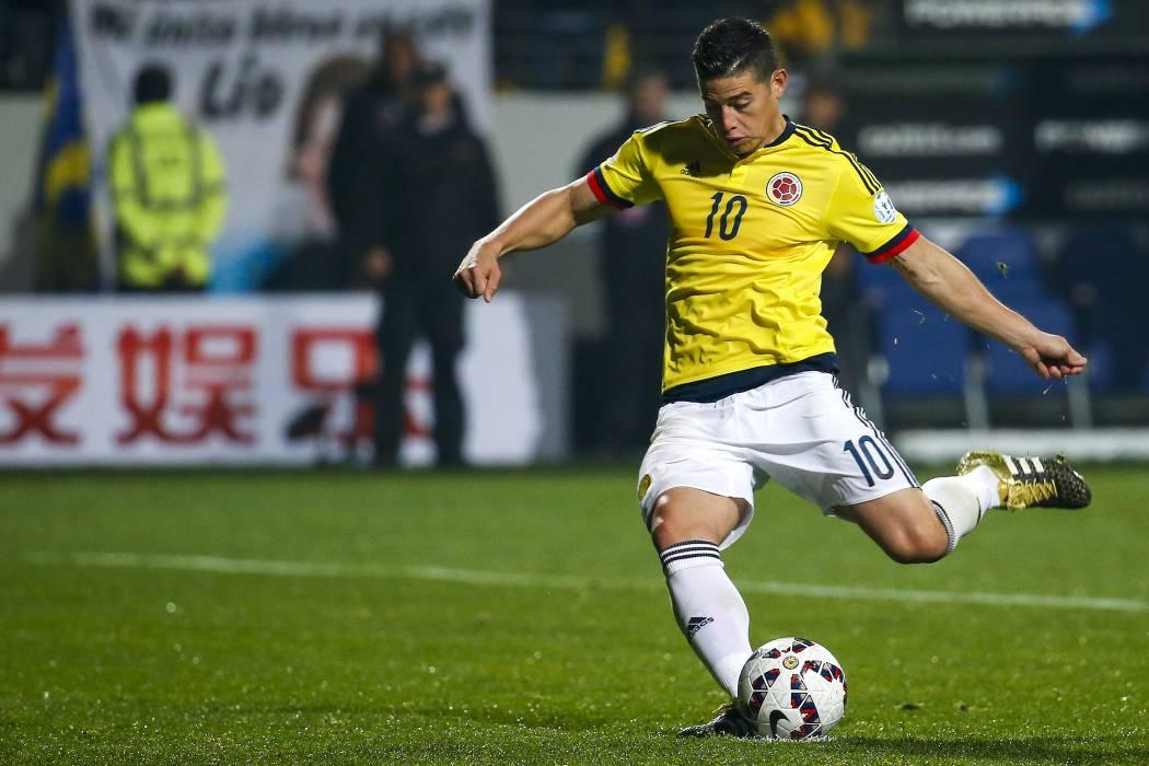 Este es el equipo titular de la Selección Colombia para enfrentar a Bolivia
