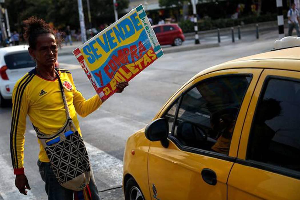 Poco ambiente en la víspera del juego Colombia-Ecuador