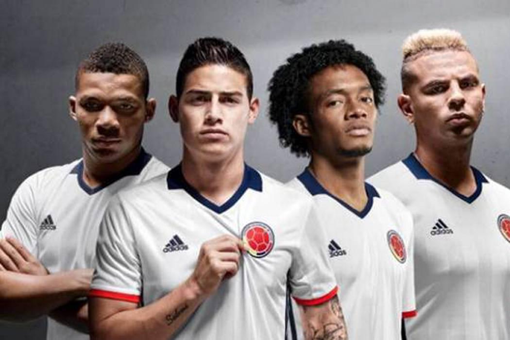 Selección Colombia jugará de blanco la Copa América Centenario