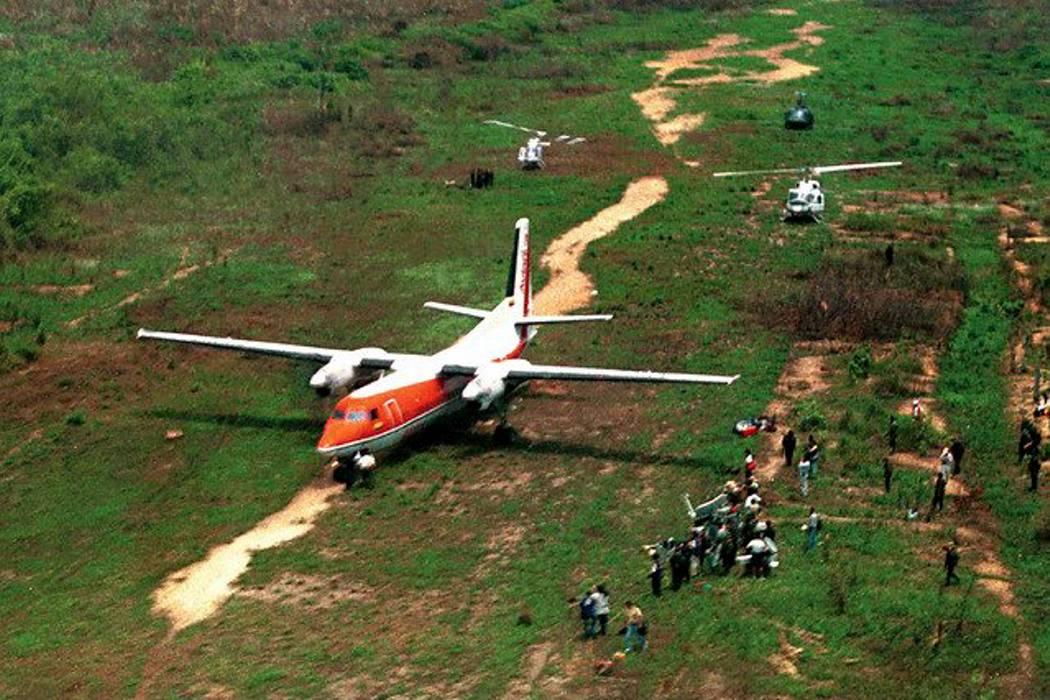Hace 17 años ocurrió el secuestro del Fokker de Avianca en Bucaramanga