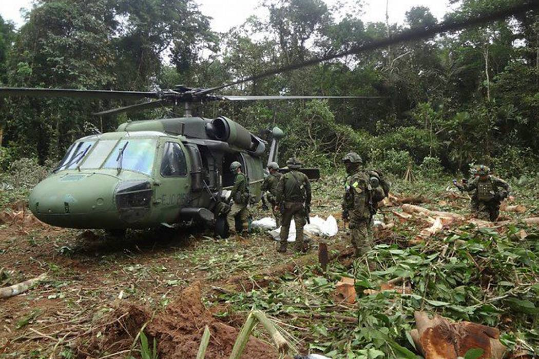 Abatidos tres guerrilleros del Eln en el Chocó