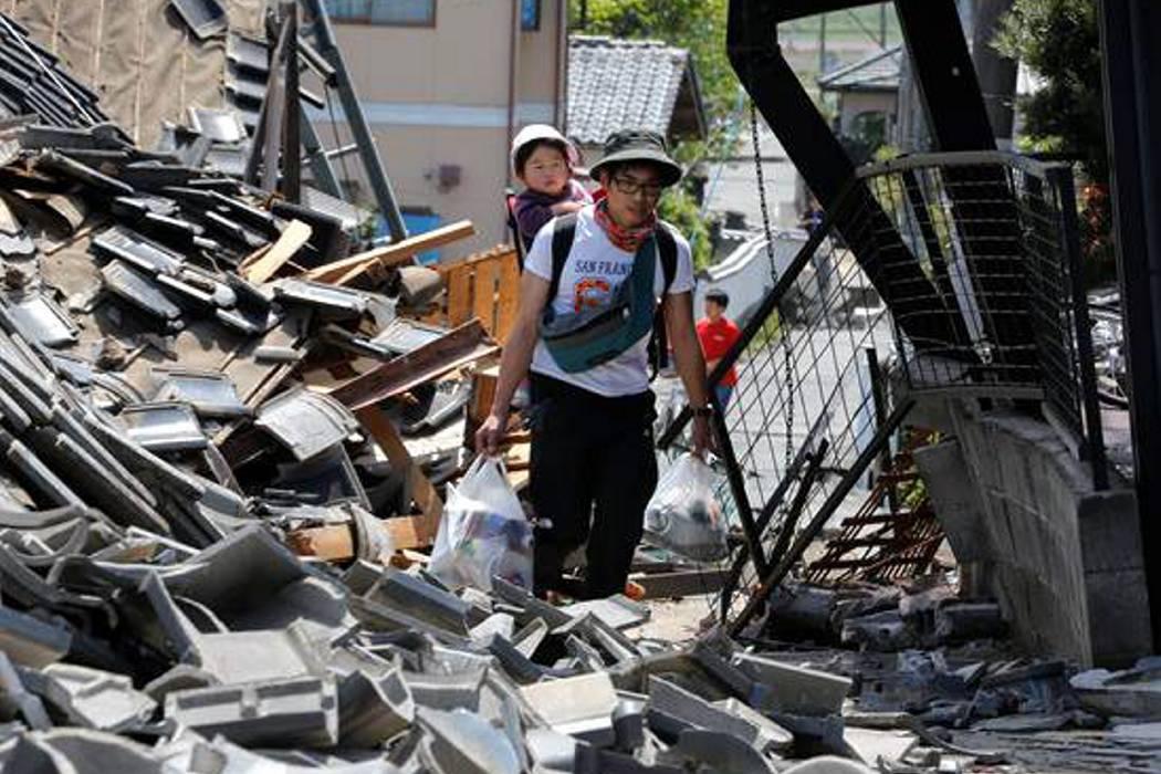 Japón se enfrenta a fuertes terremotos consecutivos
