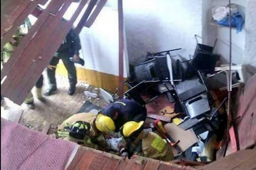 28 niños resultaron heridos por colapso de salón de clases en Cundinamarca