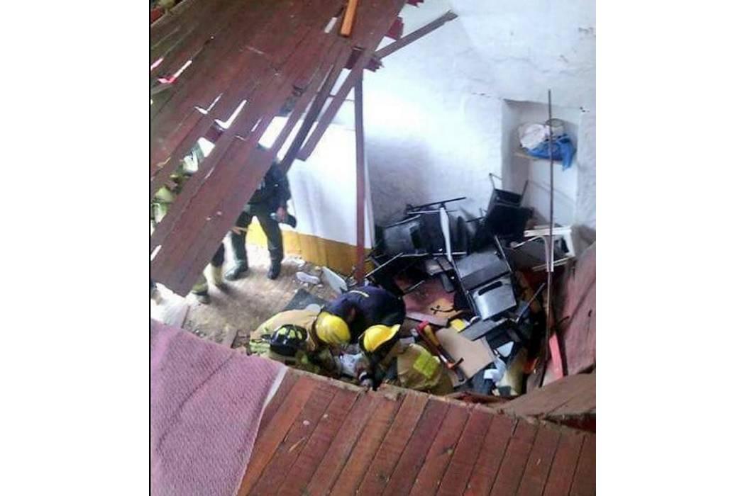 28 niños resultaron heridos por colapso de salón de clases en Fusagasugá