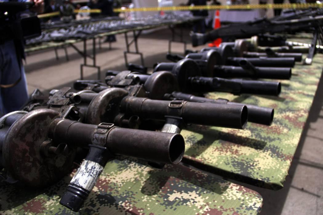 El inventario de armas de las Farc genera tensión en La Habana
