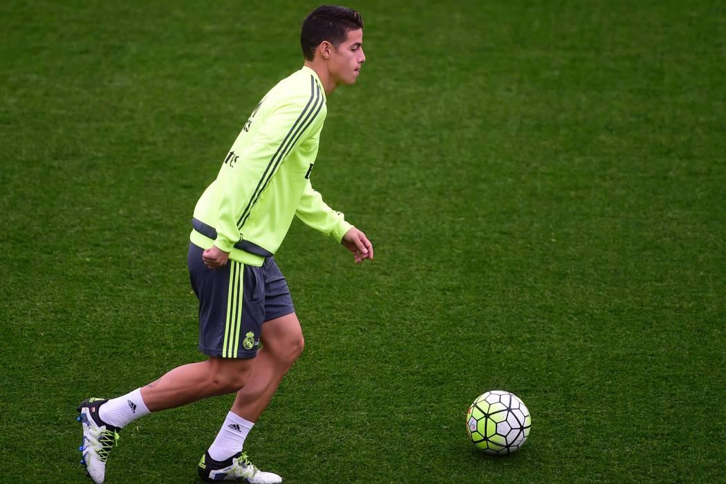 James pide pista para ser titular en el Real Madrid con un golazo