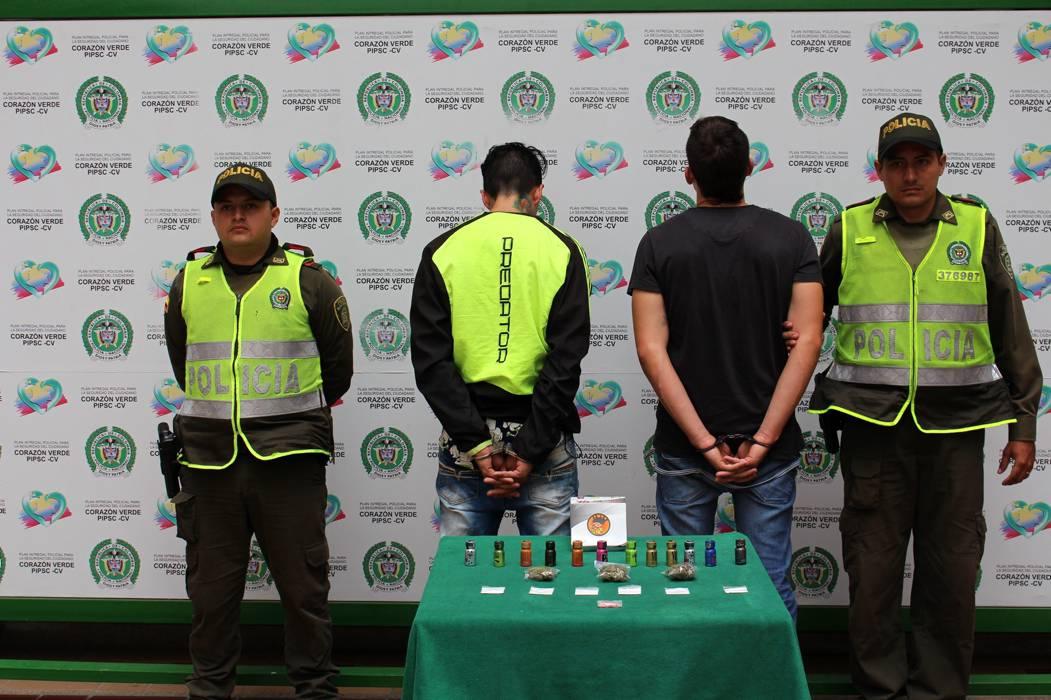 Policía detuvo a tres hombres por tráfico de estupefacientes