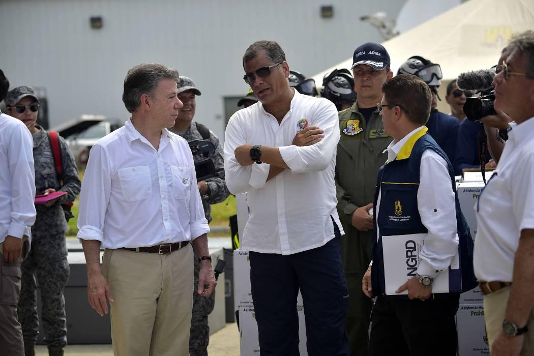 Juan Manuel Santos ratifica que Ecuador acogerá diálogos de paz con el Eln