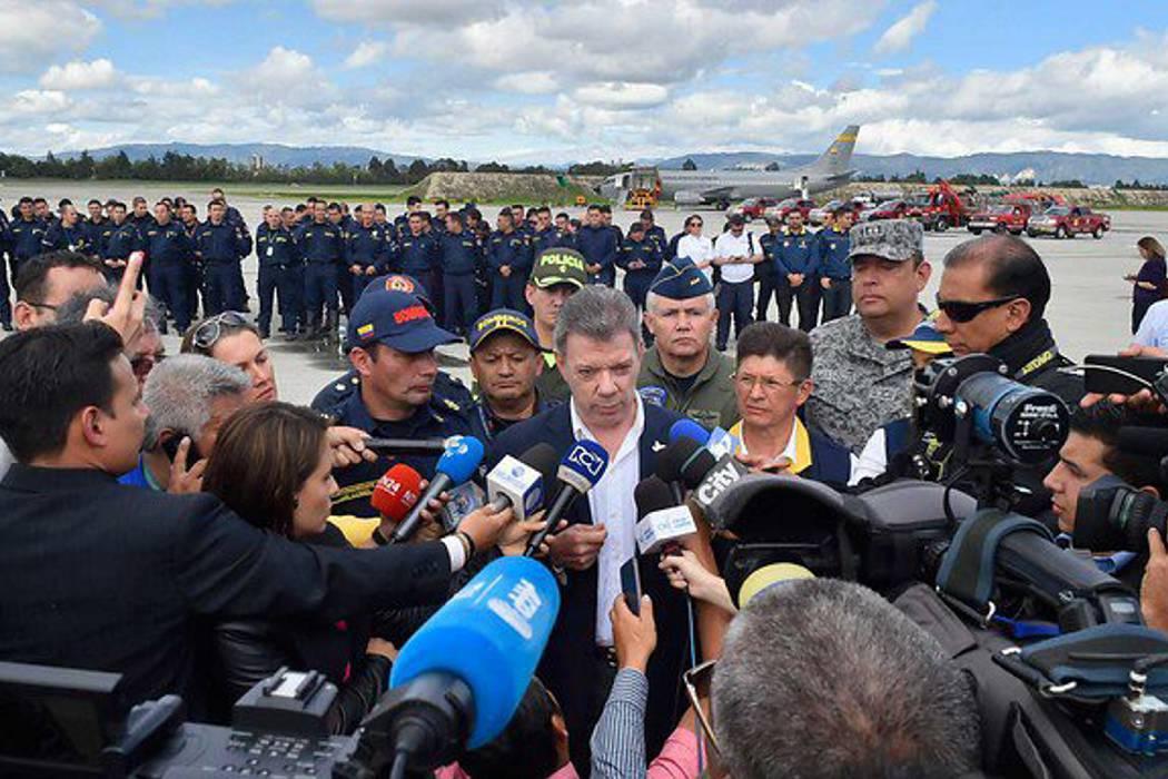 Presidente Santos viajará a Manta (Ecuador) con ayuda humanitaria