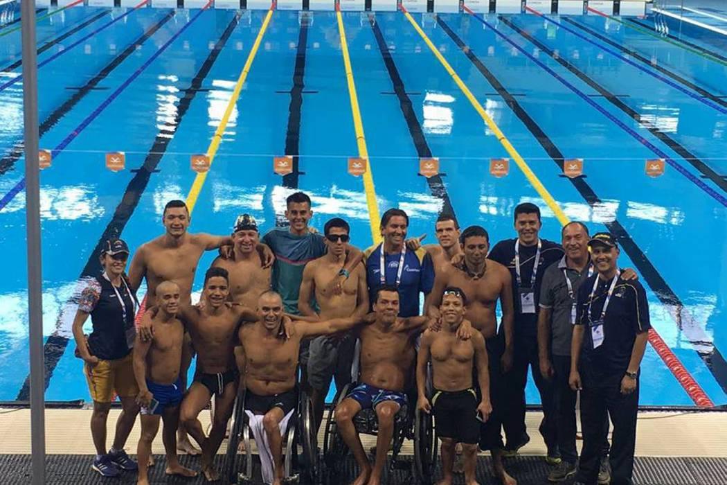 Nadadores santandereanos brillaron en Río de Janeiro