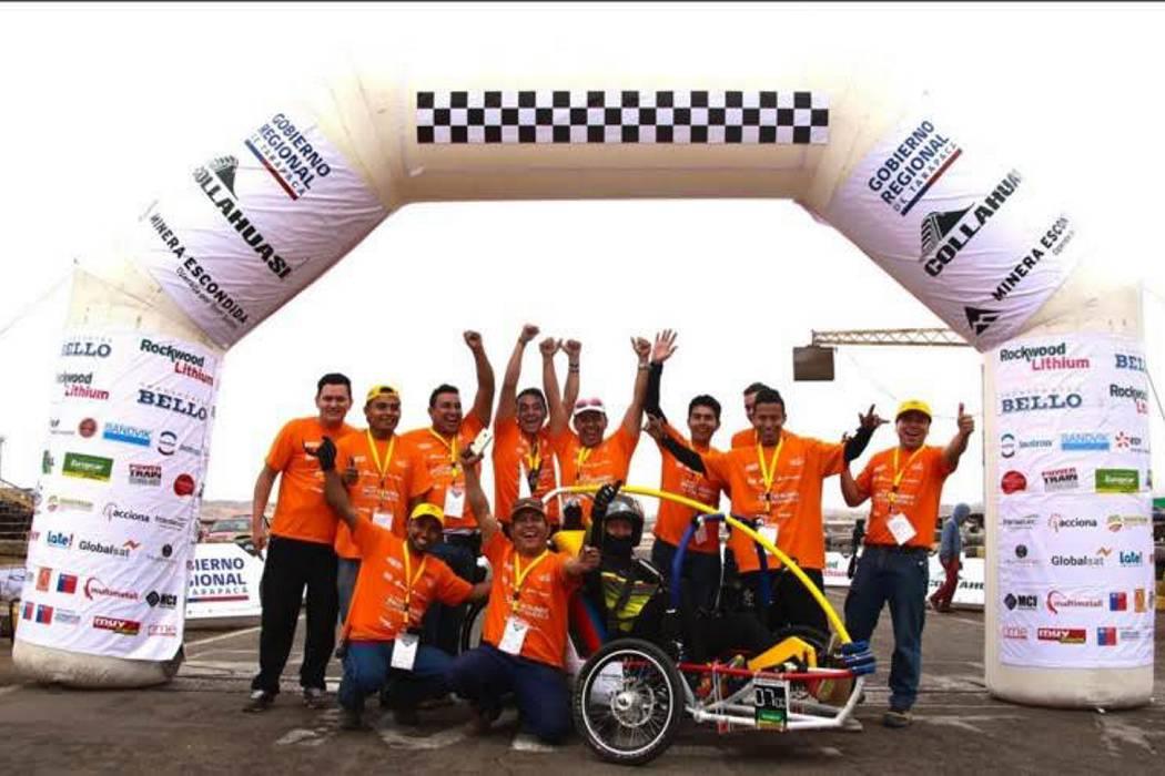 Un equipo santandereano representa al país en la Carrera Solar de Atacama