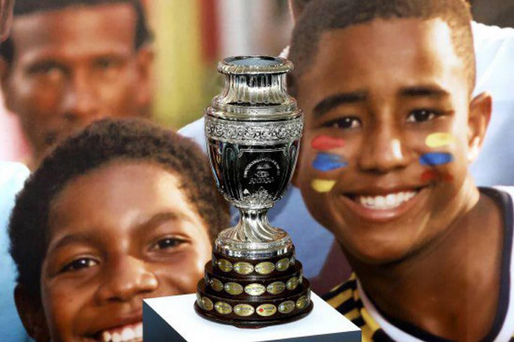 Presentarán trofeo de la Copa América Centenario en Colombia