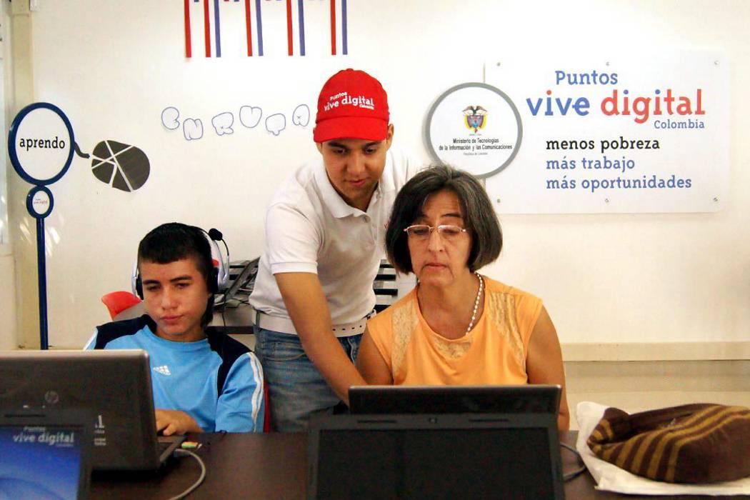 De 8 Puntos Vive Digital sólo uno está en servicio en Bucaramanga