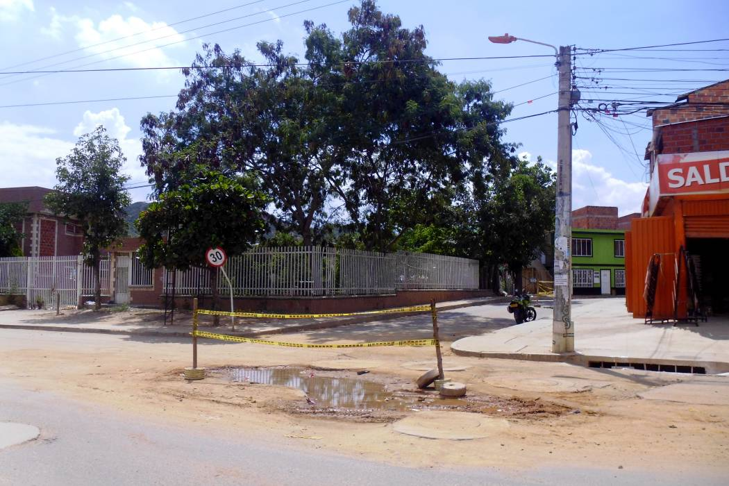 Nueva fecha al arreglo de la vía en Villa Linda