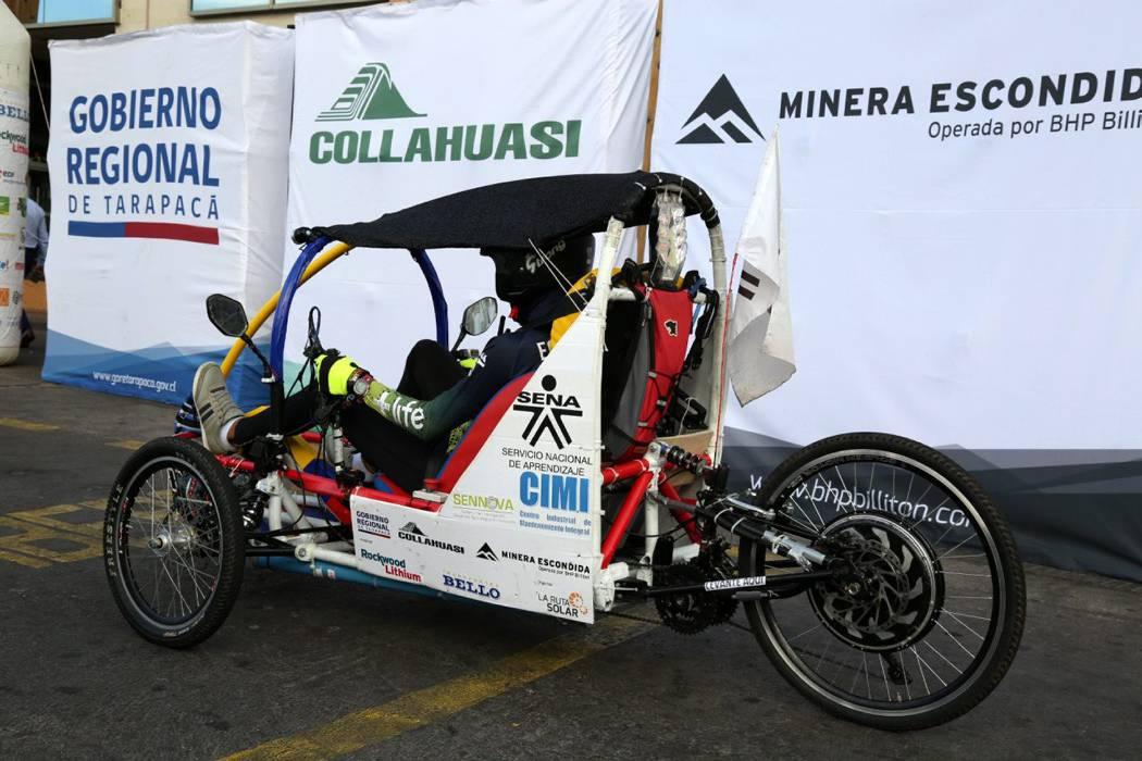 Equipo del Sena Girón ocupó segundo puesto en Carrera Solar
