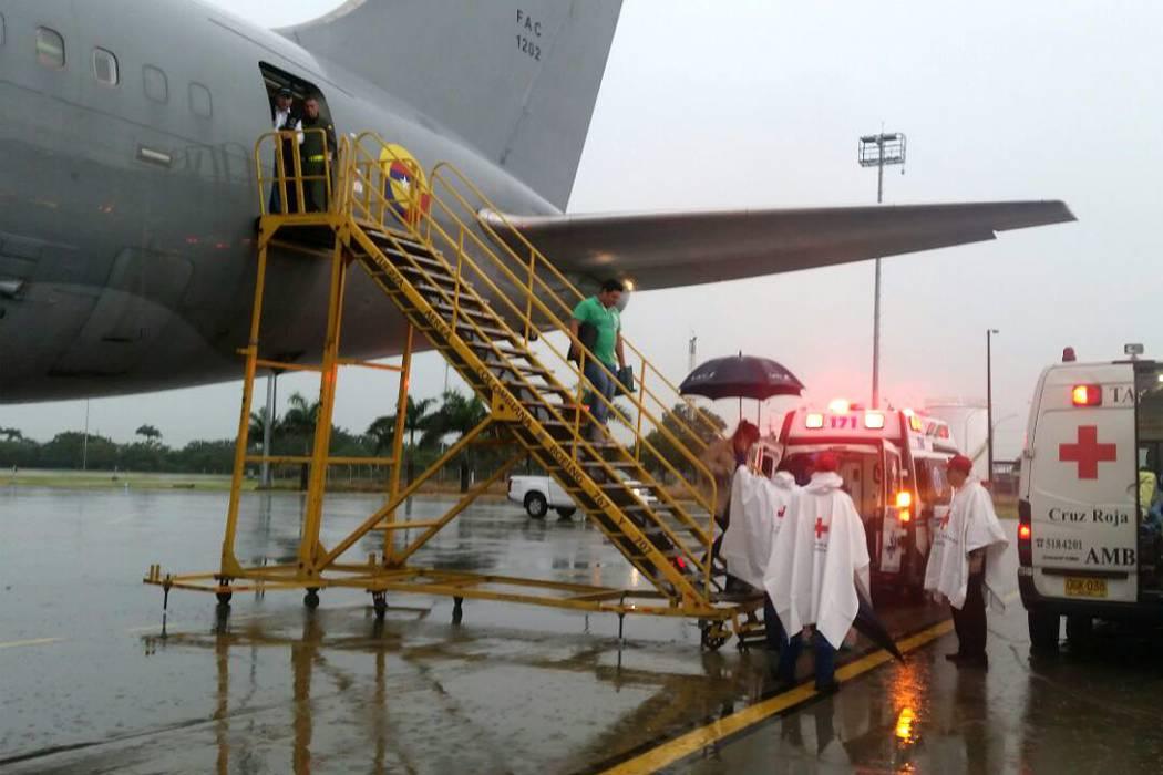 126 colombianos fueron repatriados desde Ecuador este jueves