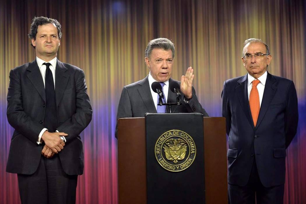 Sin liberación de secuestrados no hay proceso con Eln: Santos