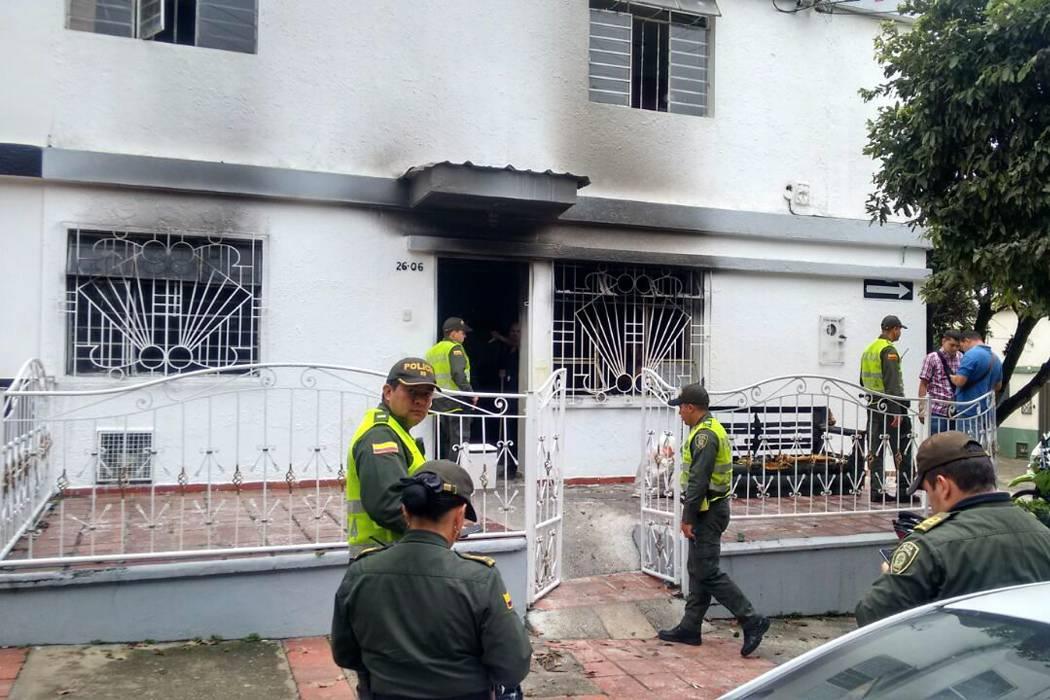 Dos hombres habrían ocasionado un incendio en una casa de Bucaramanga