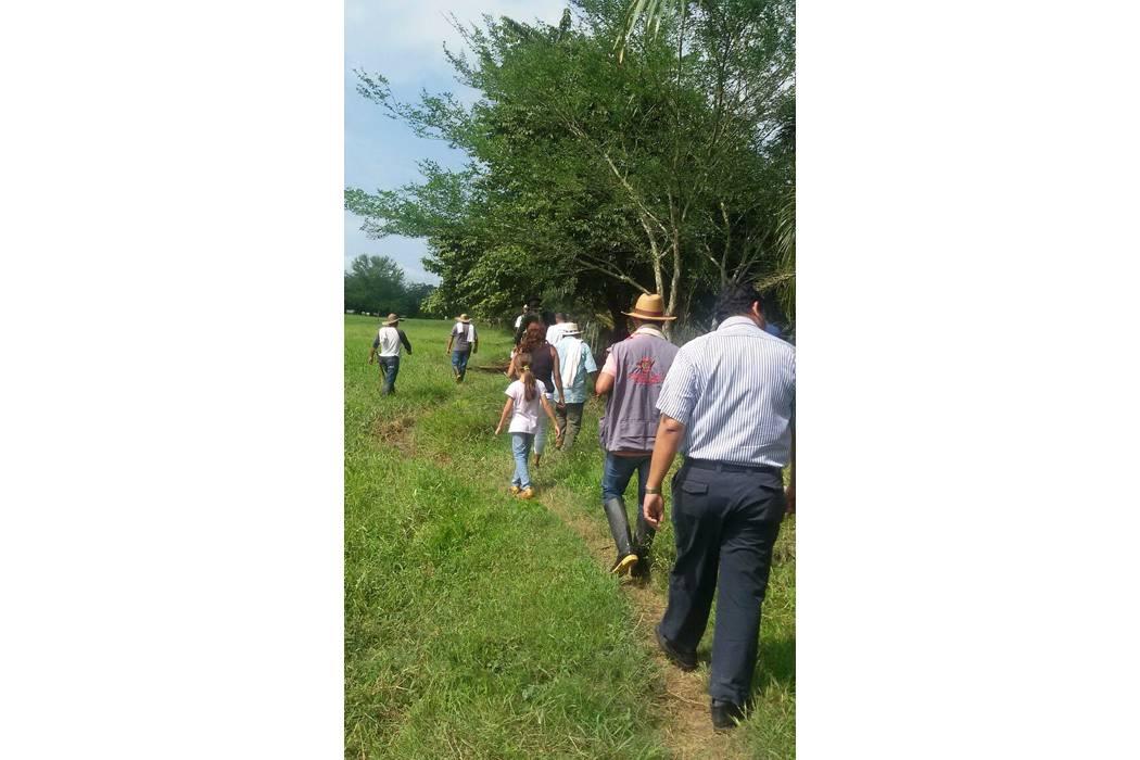 En San Alberto se produce nueva restitución de tierras