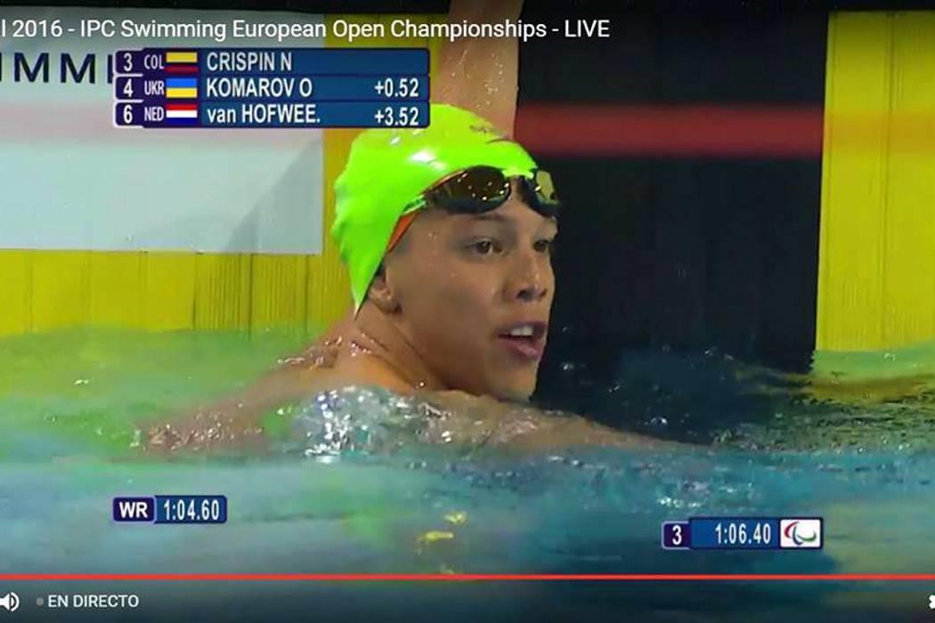 Más medallas paralímpicas se lograron en Portugal