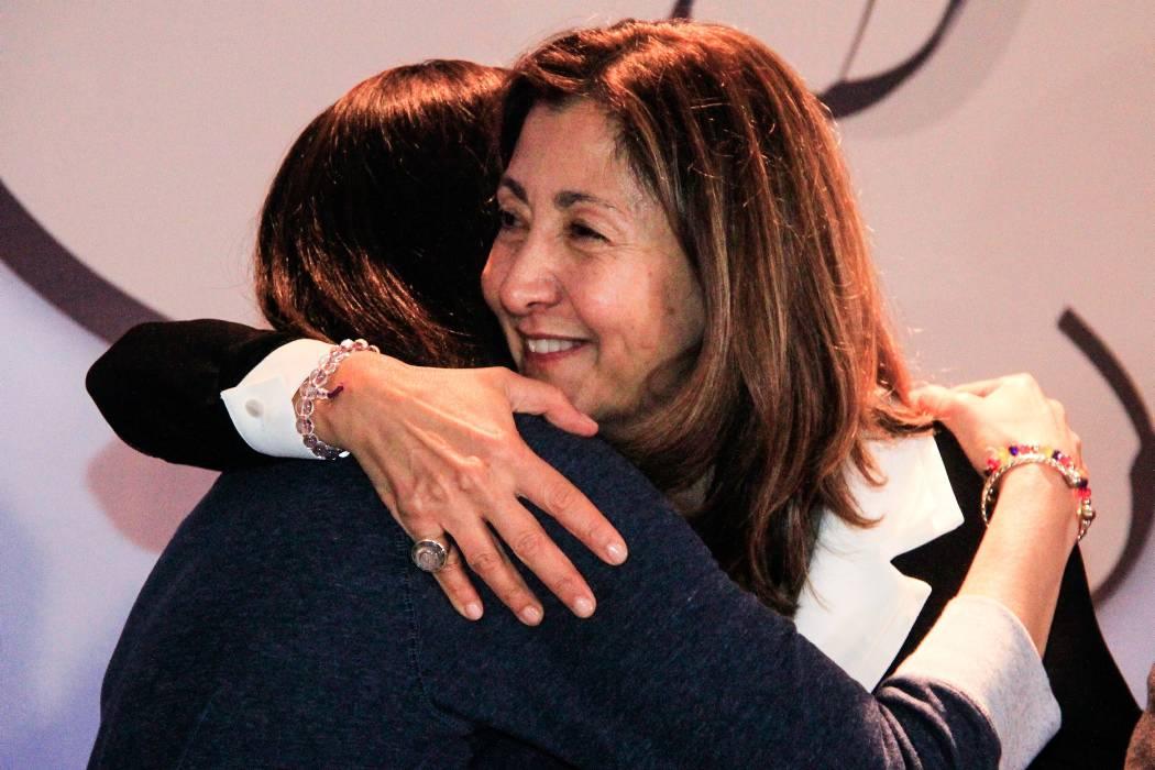 'Ha llegado la hora de abrazarnos todos': Íngrid Betancourt