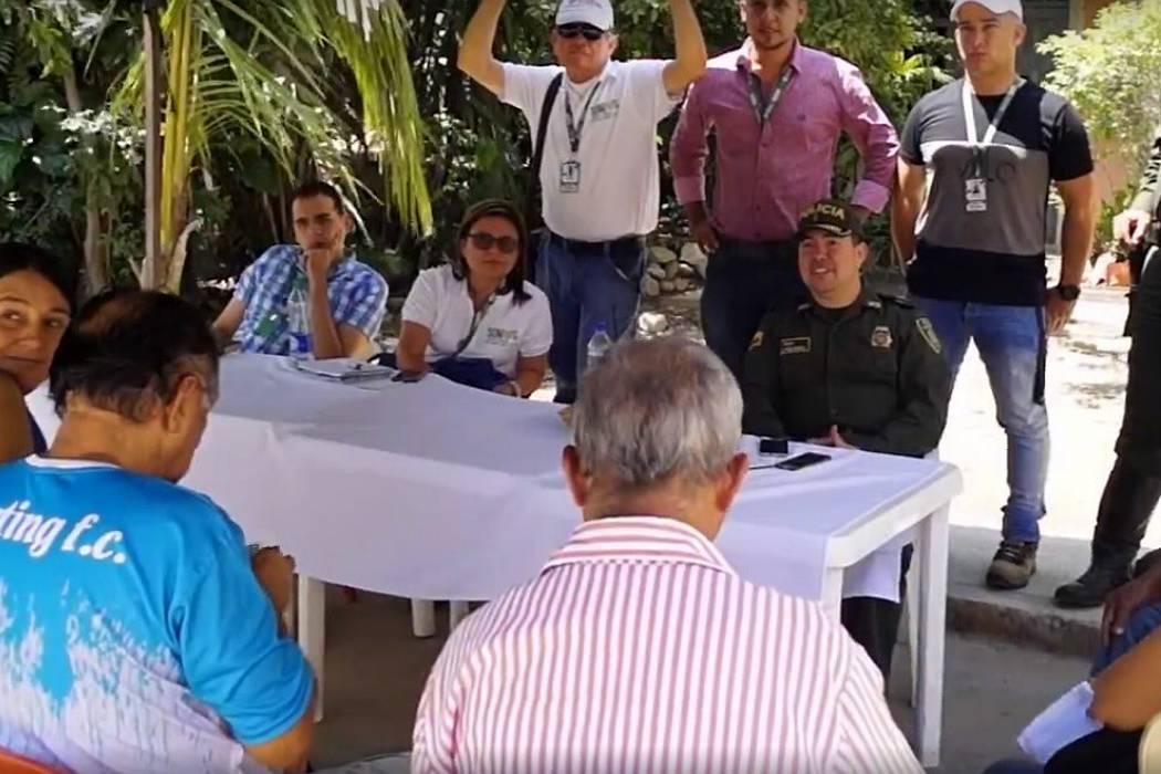 Secretaría de Gobierno llega a barrios de Girón
