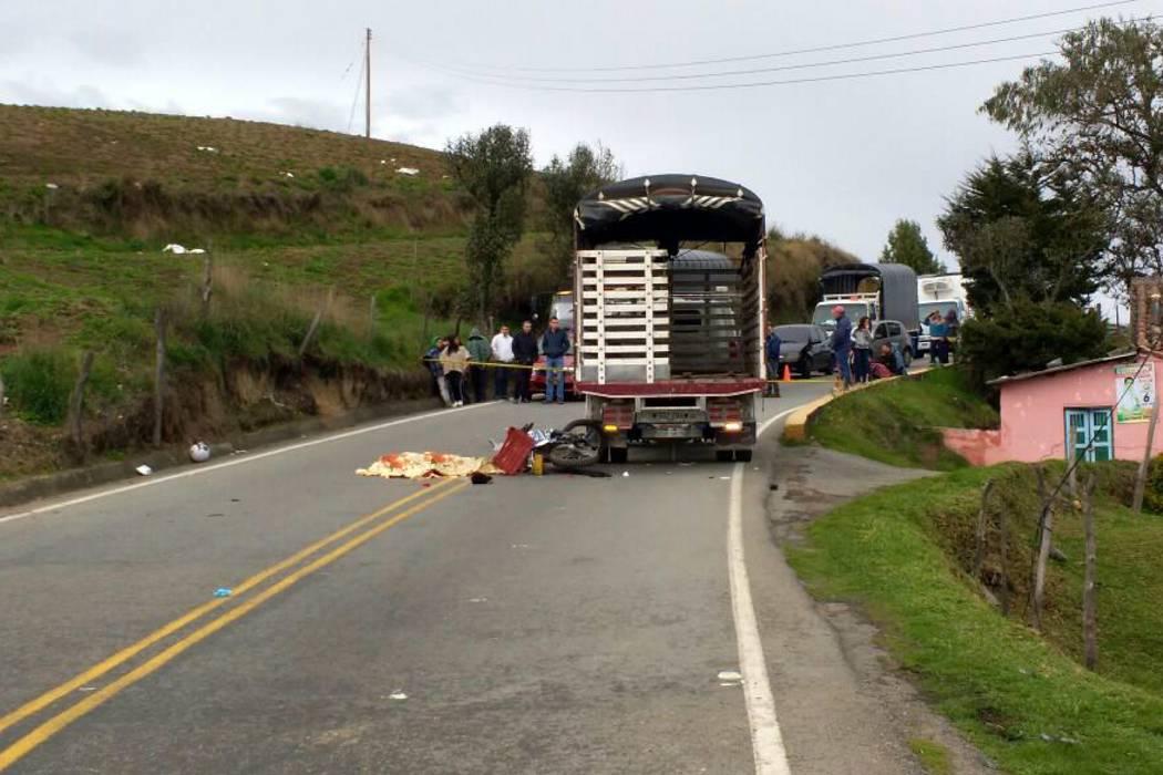 Un muerto y un herido dejó accidente en la vía a Cúcuta