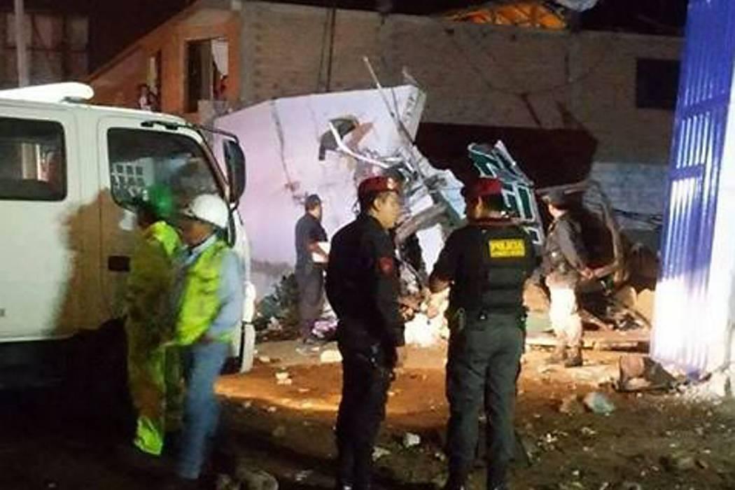27 muertos dejaron dos accidentes de tránsito en Perú