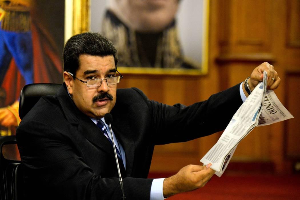 Maduro, con amplios poderes por estado de excepción, descarta ser revocado