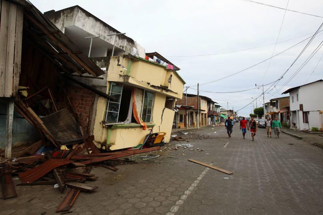 Nuevo terremoto en Ecuador no reporta víctimas