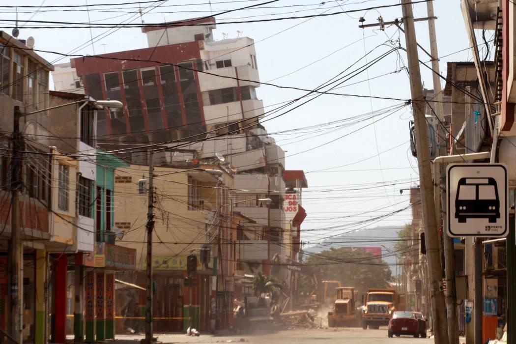 Segundo terremoto en Ecuador en las últimas 12 horas