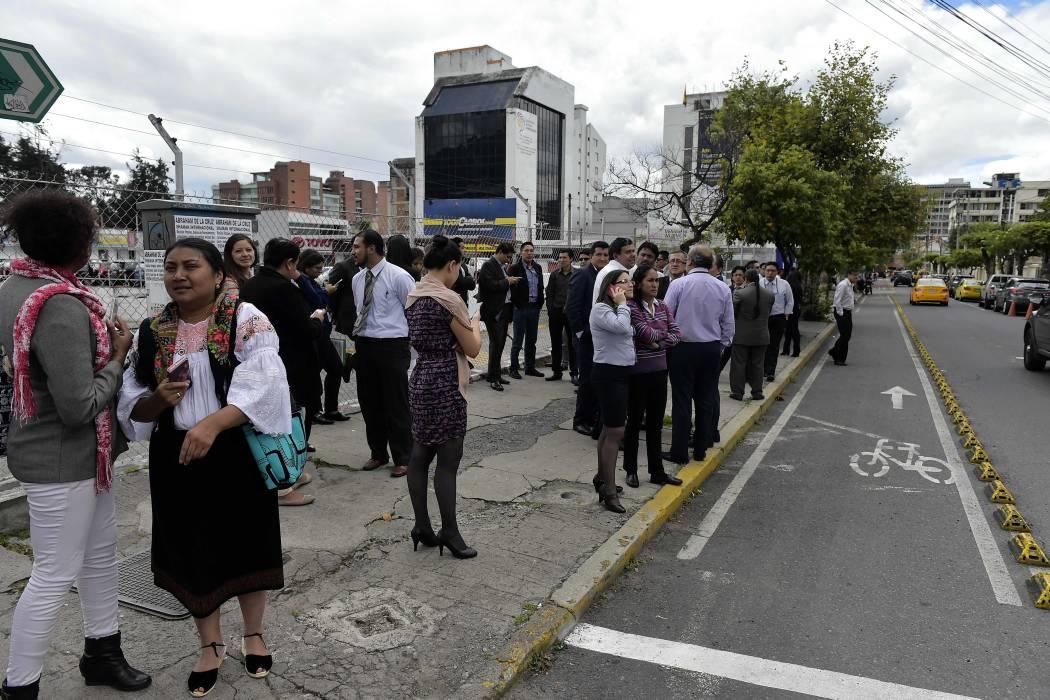 Un muerto y 85 heridos en Ecuador