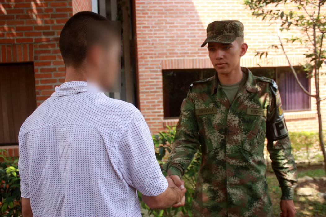 Tres guerrilleros dejaron las armas en Santa Rosa, Bolívar
