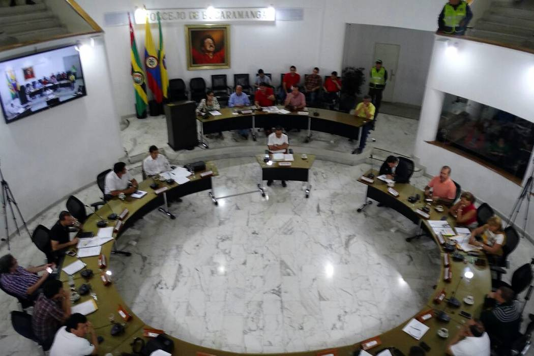 Concejales minoritarios de Bucaramanga denuncian falta de garantías
