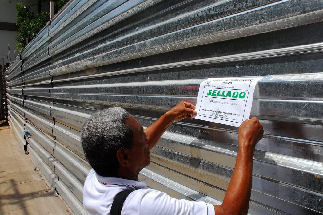 Este año han sellado 65 construcciones en Bucaramanga
