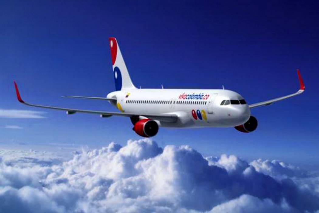 La aerolínea VivaColombia celebrará su cuarto aniversario y completará 32 rutas