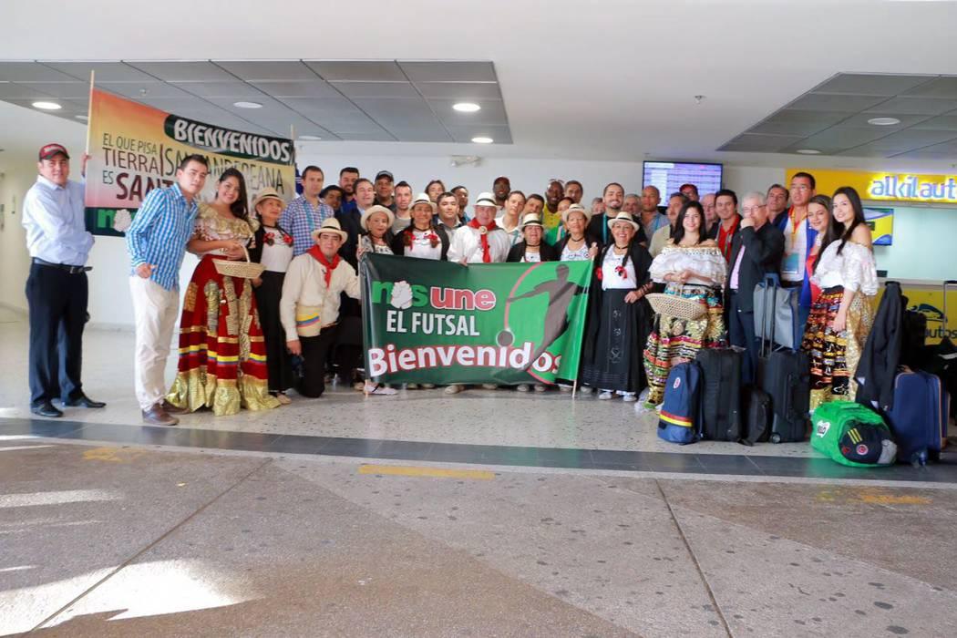Equipos del Mundial de Futsal aprobaron a Bucaramanga como sede