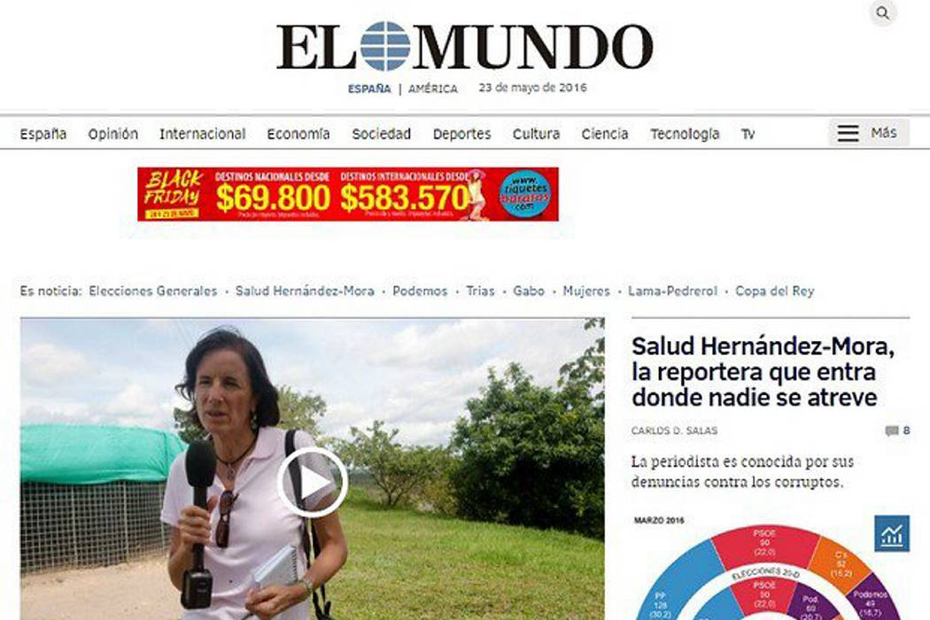 Periódico de España afirma que Salud fue secuestrada