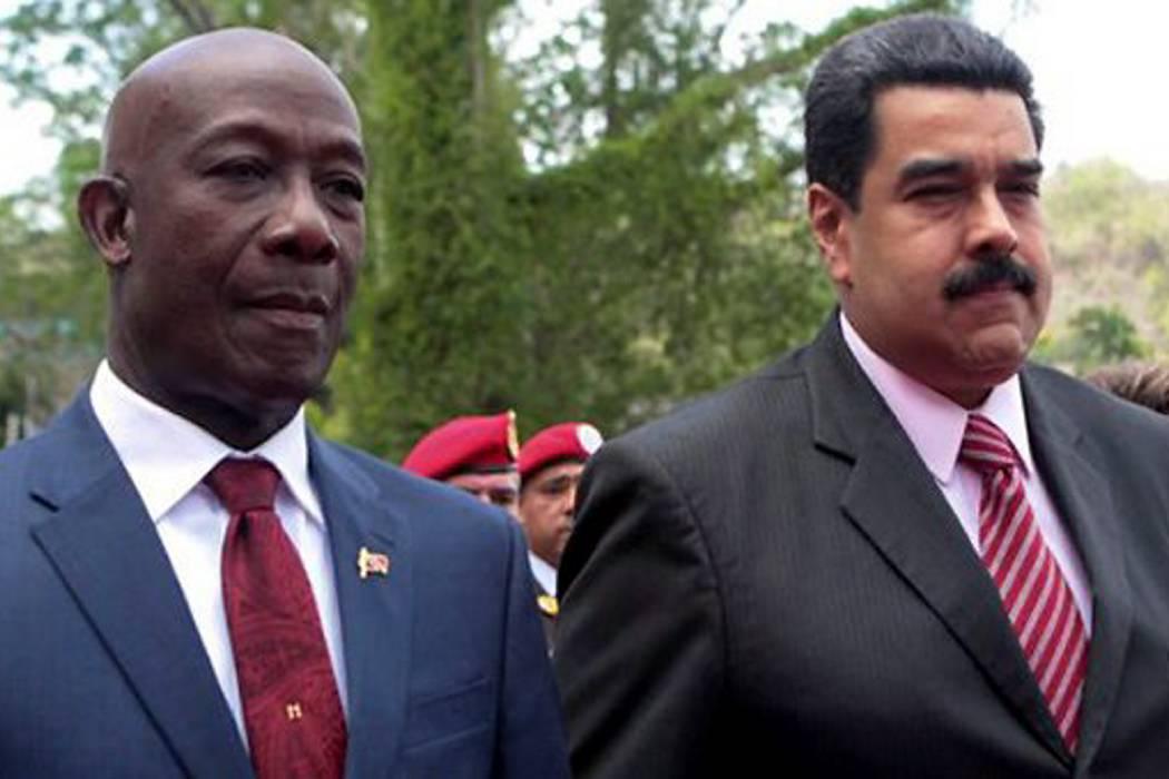 Presidente de Venezuela se reunió con el primer ministro de Trinidad y Tobago