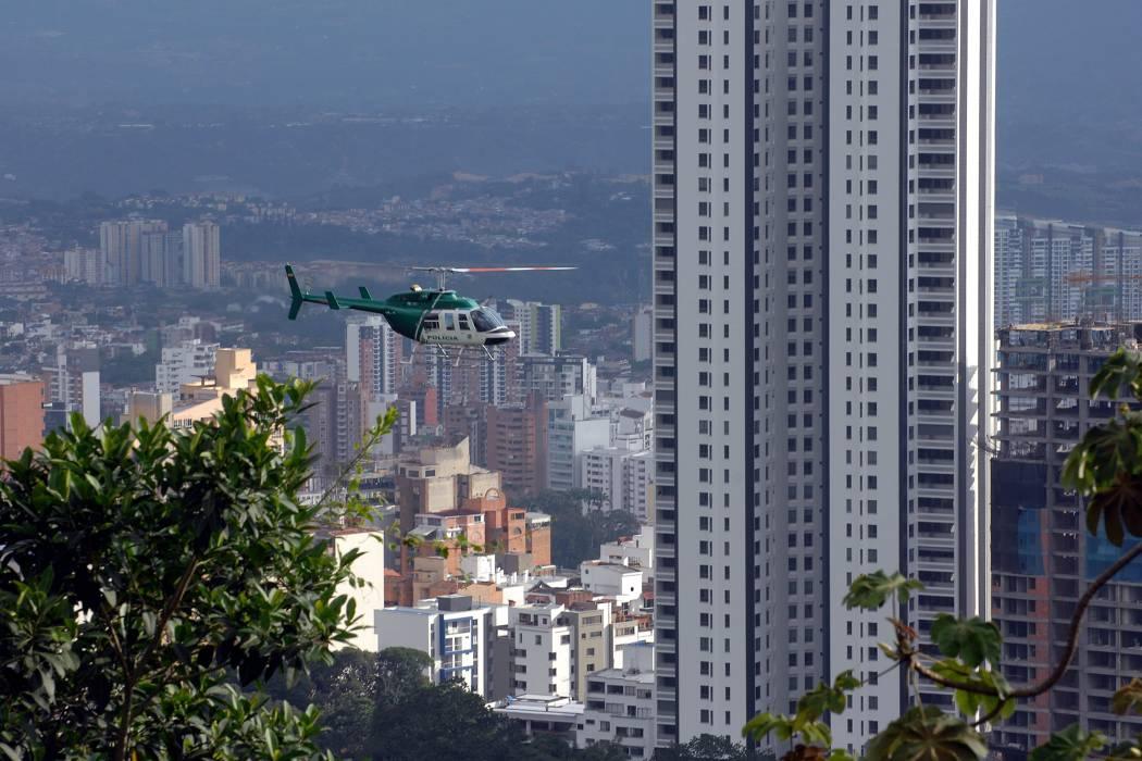 Desde el cielo, también se custodia a Bucaramanga