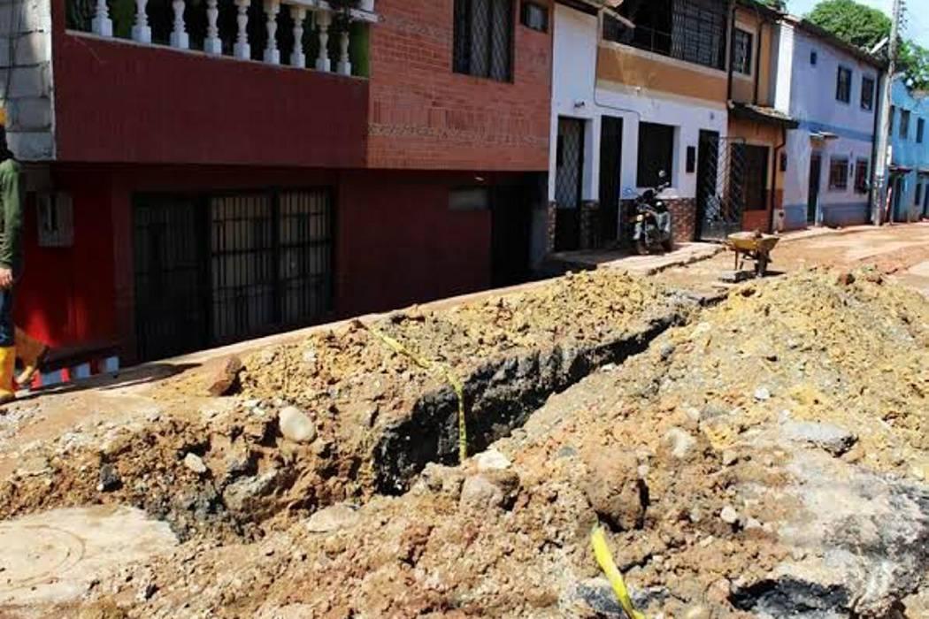 PDS hizo corte de agua en dos barrios