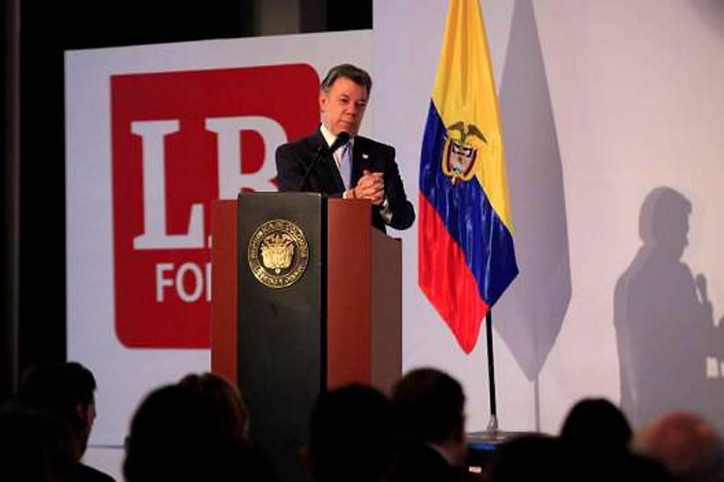 """""""Reforma tributaria será amigable con los empresarios"""": presidente Santos"""