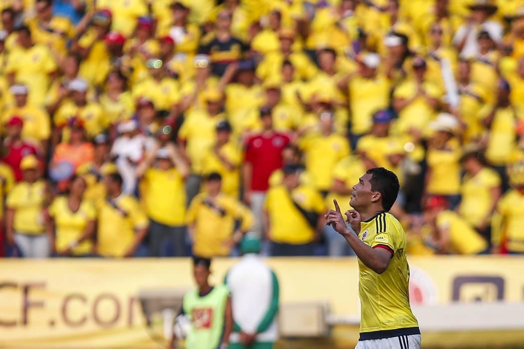 Colombia se mide ante Haití de cara a la Copa