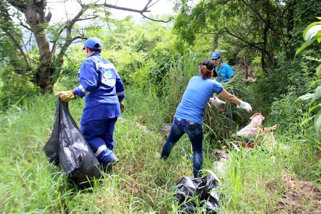 Realizaron jornada de limpieza en El Jovito