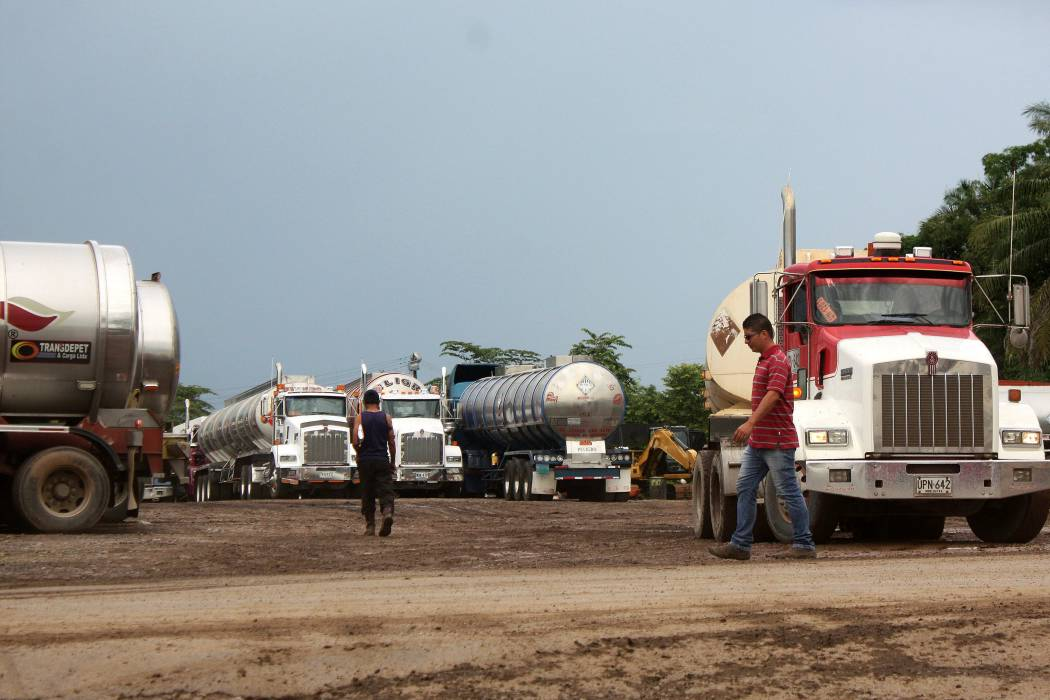 Paro camionero se suma al paro agrario en La Lizama