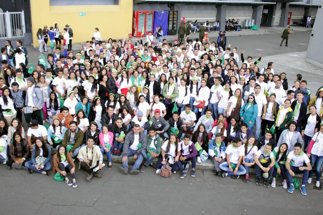 Se cumplió encuentro jóvenes de ambiente 'Territorio y Paz'